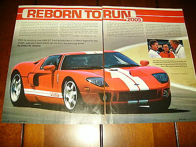2005 Ford Gt   ***original Article***