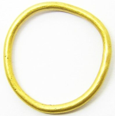 Wonderful Celtic Iron Age Gold Finger Ring c. 5th - 1st century B.C. Size 10