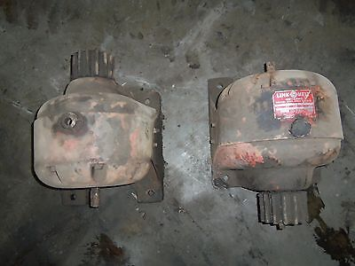 2 A pair of  link belt inline helical gear speed reducer 70.6 ratio model cti-55