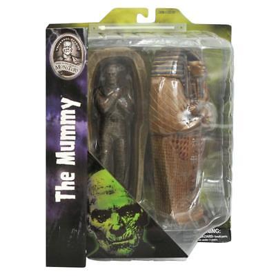 "Universal Monsters The Mummy Diamond Select 7"" Action Figure Collectible"