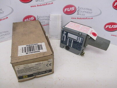 Square D Type ADW-3, Form: M11 Pressure Switch, 135-1000 PSI - Unused In Box
