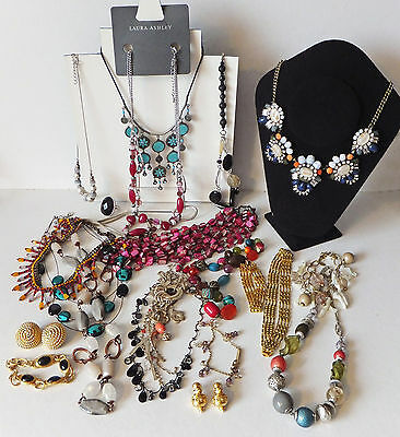 20 Items of Branded Costume Jewellery inc Superb M & S Statement Necklace