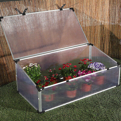 Aluminium Cold Frame | Plant protection | Suitable for flowers or vegetables