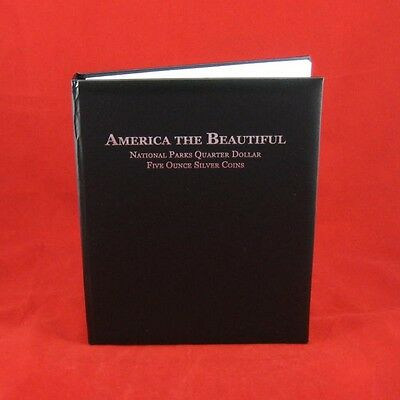 America the Beautiful 5 oz Silver Coin Album by Book of Silver