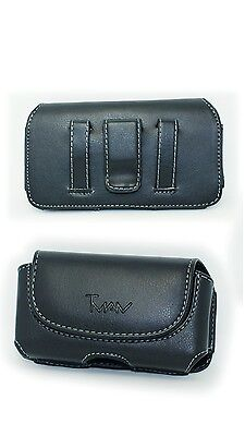 BLACK CASE POUCH Holster with Belt Clip for Assurance