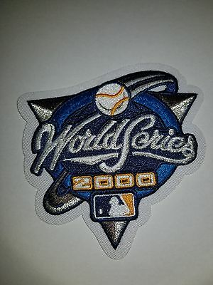 2000 World Series NEW YORK YANKEES vs NEW YORK METS Patch For Jersey NEW