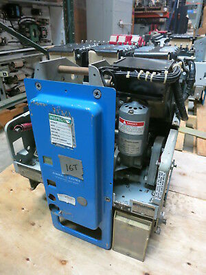 General Electric AK-5A-30 800A SST LI Electrically Operated 125VDC Breaker GE