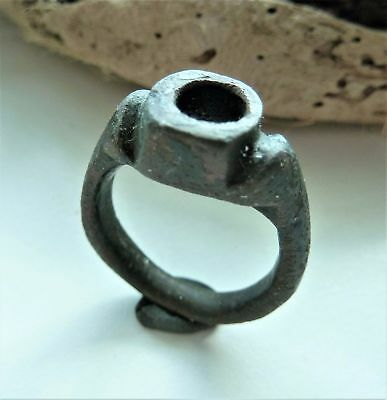Post medieval bronze ring  (1713).