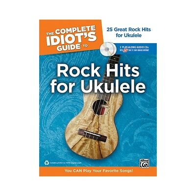 Alfred Complete Idiot's Guide Rock Hits Ukulele w/2CD