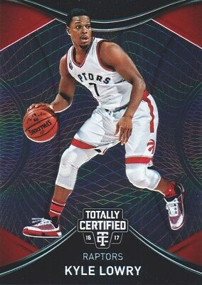 2016-17 Totally Certified Basketball #82 Kyle Lowry Toronto Raptors