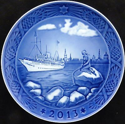 ROYAL COPENHAGEN 2013 Christmas Plate - New in Box! – Little Mermaid