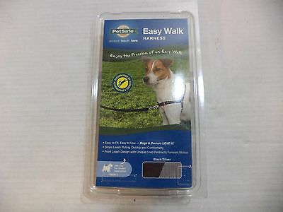 PetSafe Easy Walk Dog Harness In Size Small - Large And Colors Gray & Black