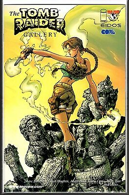 Image Top Cow 2000 THE TOMB RAIDER GALLERY FIRST PRINT WITH ADAM HUGHES !