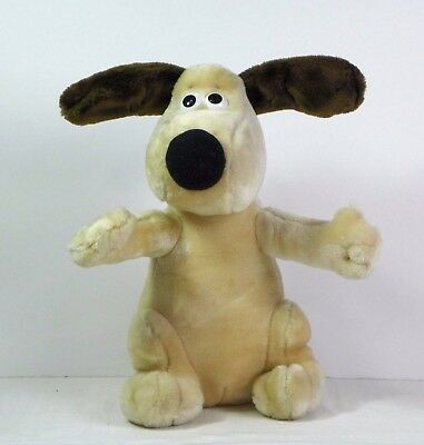 Born to Play Wallace & Gromit plush Gromit Doll Vintage 1989 10""