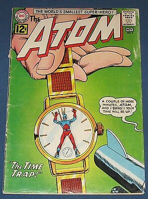 The Atom #3  Nov 1962  Chronos!