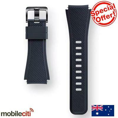 Samsung Gear S3 Active Silicone Band - Black - [Au Stock]