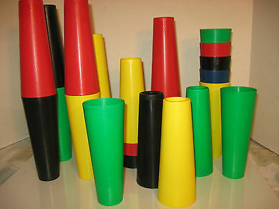 """25 Therapy Cones  7"""" For Rehab And Adaptive Therapy  - New With Free Ship"""