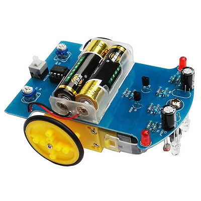 2WD Smart Car Tracking Robot Car Chassis DIY Reduction Motor LM393 For Arduino
