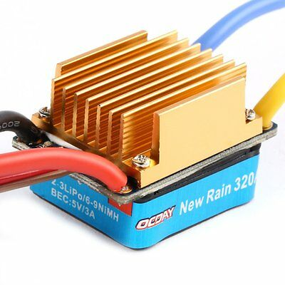 Waterproof ESC Speed 3S Electronic Controller Brushed 60A OCDAY For RC Car