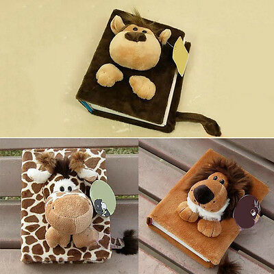 80 Pages Cartoon Fluff Soft Doll Photo Plush Album for Baby Family Gift Fashion