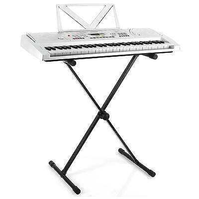 [Occasion] Stand Support En X Piano Clavier Synthe Malone Pied Pliable Reglable