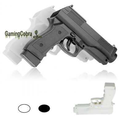 Mount Wireless Light Gun Pistol Shooting Game for Nintendo Wii Remote Controller