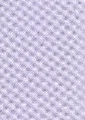 14 Count Zweigart Pastel Lilac Aida Cross Stitch Fabric Fat Quarter 49x54cms