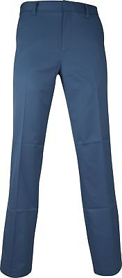 Ashworth Synthetic Stretch Mens Golf Pants - Blue