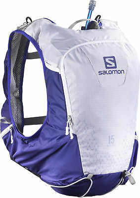 Salomon Skin Pro 15 Set Hydration Backpack - Blue