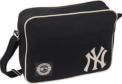 MLB NY New York Yankees Flight Shoulder Bag - Black