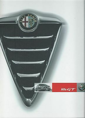 Alfa Romeo GT Large Press Pack Press Kit CD Rom 2004 Excellent condition