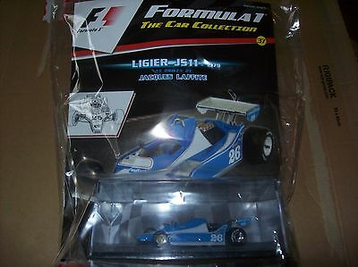 Formula 1 The Car Collection Part 37 Ligier JS11 1979 Jacques Laffite