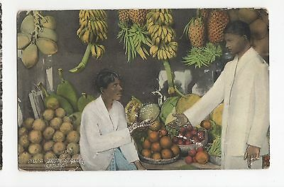 Sri Lanka, Fruit Market Postcard, A417