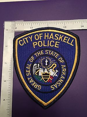 City Of Haskell Arkansas Police   Shoulder Patch