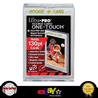 (HCW) Ultra Pro 1Touch 130pt Rookie UV Magnetic Holder One Touch Upper Deck