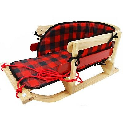 Grizzly Sleigh With Plaid Pad