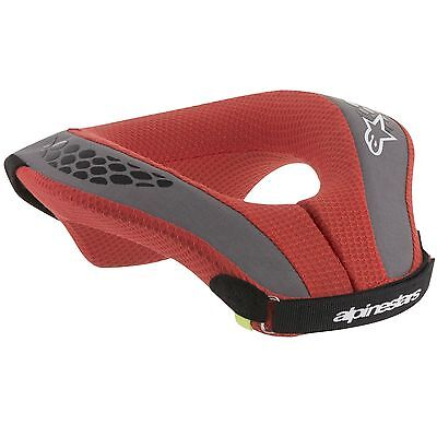Alpinestars MX / Motocross / Enduro Sequence Youth / Kids Neck Roll Black / Red