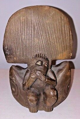 Pre-Columbian Tairona Culture Ceramic Effigy Ocarina Estate Find Earthenware