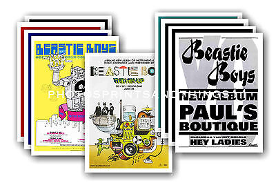 BEASTIE BOYS  - 10 promotional posters  collectable postcard set # 2