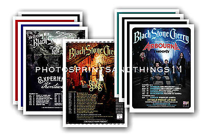 BLACK STONE CHERRY  - 10 promotional posters  collectable postcard set # 1