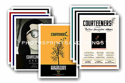 COURTEENERS - 10 promotional posters  collectable postcard set # 2