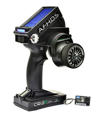 Absima CR3P 2.4Ghz 3 Channel Radio System & R3WP Waterproof Receiver 2000002