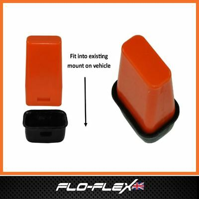 Jeep Grand Cherokee (WJ) 1998-2004 Extended Front Bump Stops in Poly Flo-Flex