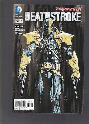 Deathstroke #15 DC The New 52! 1st Koschei Appearance!
