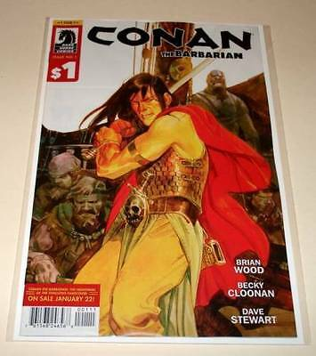 CONAN THE BARBARIAN : ONE FOR ONE # 1 Dark Horse Comic January 2014 NM