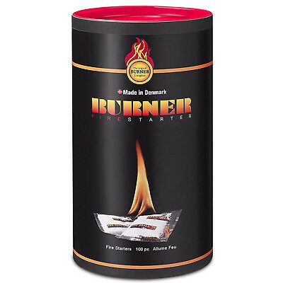 Tiger Tim Individual Sachet Firelighters Super Clean Easy Lighting - No Mess