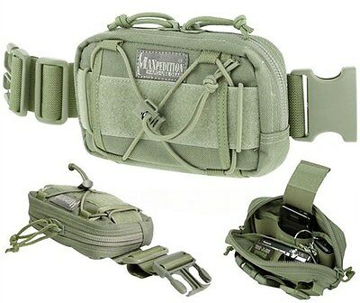 Maxpedition Janus Extension Pocket Foliage Green Pack Pouch 8001F