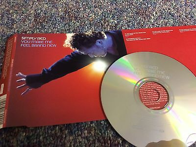 Simply Red You Make Me Feel Brand New Cd Single Uk Issue From Collection