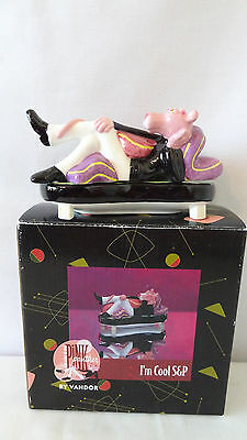 Vandor United Artists 1998 Pink Panther I'm Cool Salt Pepper Shakers MIB #J392