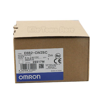 OMRON E6B2-CWZ6C Rotary Encoder 360P/R New One year warranty